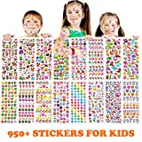 Stickers 950+ pcs, Teacher Stickers for Kids,16 Different Sheets, 3D...
