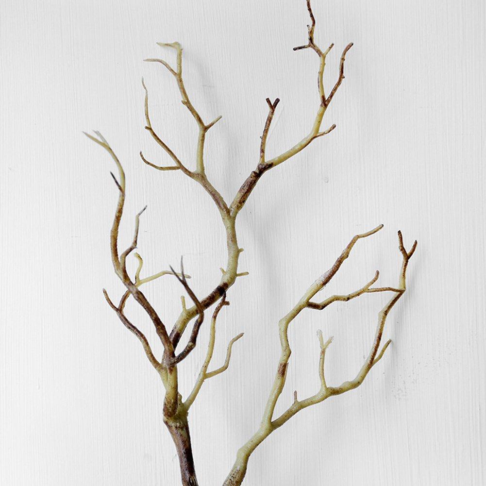 Coffee SUPEWOLD albero artificiale 35/cm falso albero secco ramoscelli ramo piccolo albero matrimonio casa decorazione decorazione fai da te 35cm