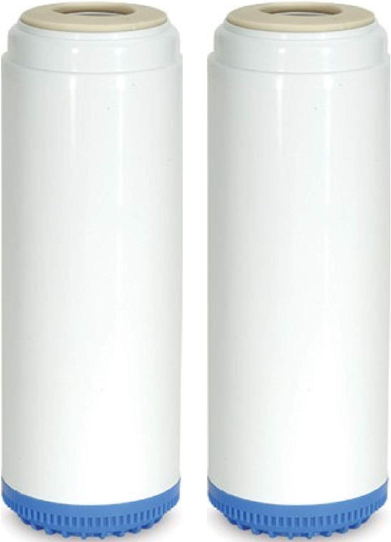2 Bone Char Fluoride Arsenic Carbon Filters 1 Carbon//KDF55 Water Filter Standard