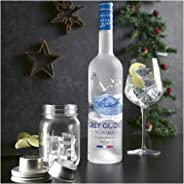 1 Vodka Grey Goose 750ML +1 Shaker De Vidrio Con Tapa de Regalo
