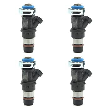 MODIFY-GT Fuel Injectors for Chevy Chevrolet Silverado 1500 GMC Sierra 1500 Cadillac 4 Hole Flow Matched Fuel Injector FJ10062 4.8L 5.3L 6.0L 17113553 25317628 25323974