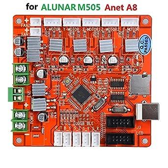 Amazon com ALUNAR 3D Printer Control Board Desktop RepRap
