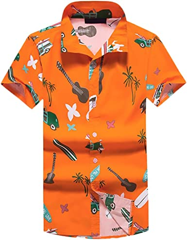 Camisas Hombre Verano Familia Hawaiana Camiseta Impresión Floral Moda Anchas Casual Playa Manga Corta Padres E Hijos Camisa: Amazon.es: Ropa y accesorios