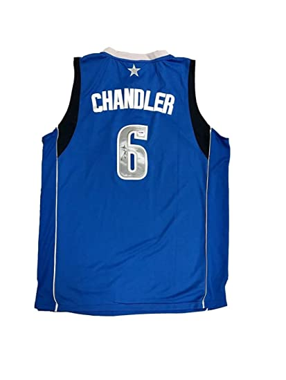 Image Unavailable. Image not available for. Color  Tyson Chandler Dallas  Mavericks Autographed Signed Home Blue Jersey Memorabilia PSA DNA 4ce924e95