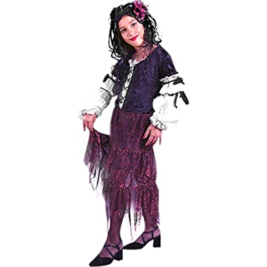Childu0027s Gypsy Rose Halloween Costume (Medium ...  sc 1 st  Amazon.com & Amazon.com: Childu0027s Gypsy Rose Halloween Costume (Medium 8-10): Clothing