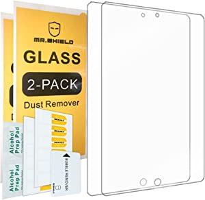 Mr.Shield [2-Pack] for iPad Mini 5 [Tempered Glass] Screen Protector [0.3mm Ultra Thin 9H Hardness 2.5D Round Edge] with Lifetime Replacement