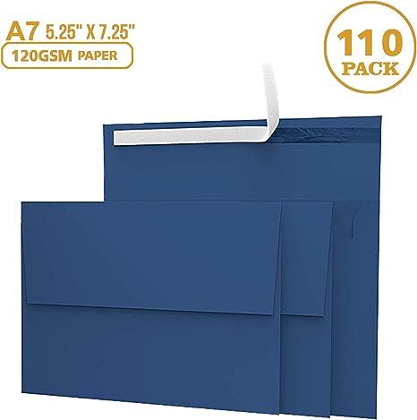 Amazon.com: Sobres de invitación, paquete de 55 unidades ...