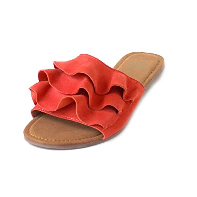 Apple of Eden Shelby Coral Suede