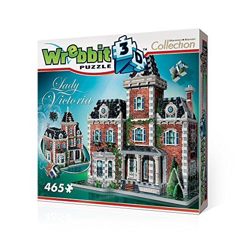 Lady Victoria 3D Jigsaw Puzzle, 465-Piece