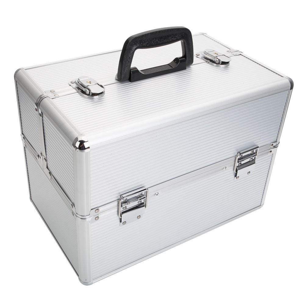 Amazon coupon code for Aluminum Makeup Case Makeup Storage Box