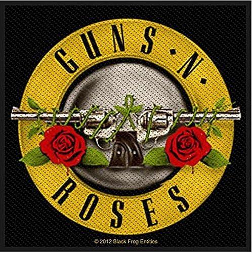Guns N Roses hierro-on/sew-a presión parche (CV): Amazon.es: Hogar