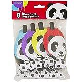 Panda Birthday Party Blowers, 8ct
