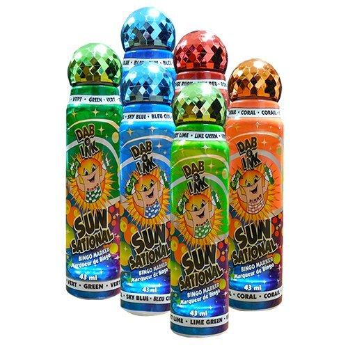 【まとめ買い】 Six B00H4GB4ZI Pack 1.5 Oz Sunsational Sunsational Assorted Bingo Dauber Bingo B00H4GB4ZI, 光工房:8b807d31 --- realcalcados.com.br
