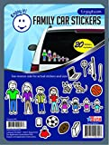 stick figure decals - Enjoy It Color Accents Family Car Stickers Stick Figure Family, 20 pieces, Outdoor Rated Vinyl Sticker Decals