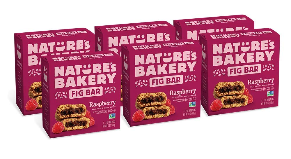 Nature's Bakery Bakery Whole Wheat Fig Wheat Bar, + Raspberry, Vegan + Non-GMO, 6 Count (Pack of 12) by Nature's Bakery B073SVRV3Q, トップマート:f4f31bc8 --- ijpba.info
