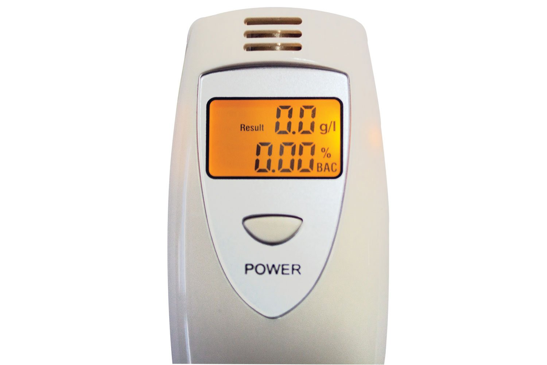 Sumex Branded Digital Alcohol Tester Breathalyser Universal Markets Ltd 205.030UK