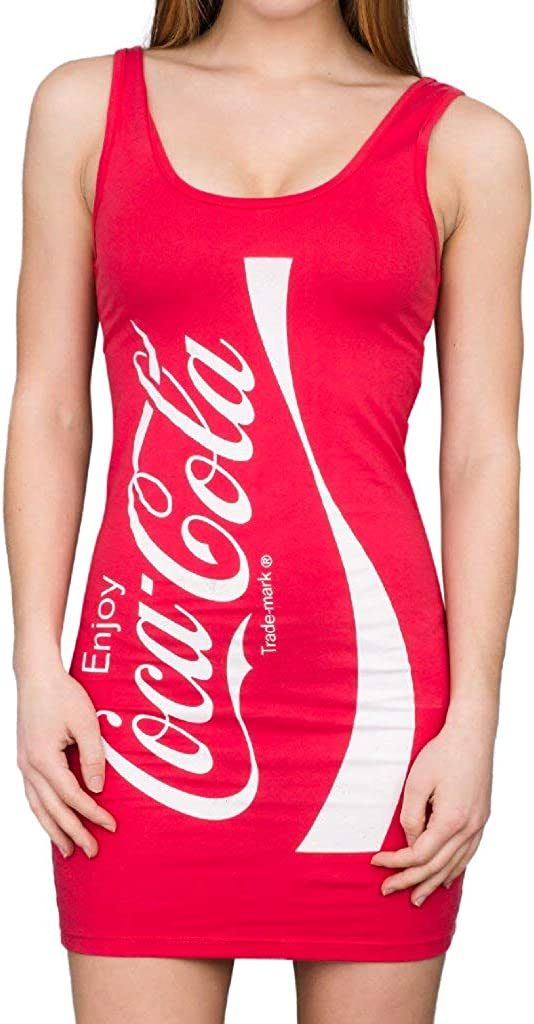 Coca-Cola Coke Red Tunic Tank Dress: Clothing