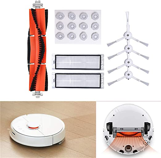 Rifuli® Accesorios para aspiradora Vacuum Cleaner Replacement Parts Suitable for XIAOMI Robot Vacuum Main Brush Kehrender Robot accesorios 0510#009: Amazon.es: Hogar