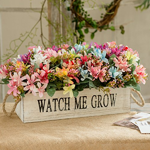 XHOPOS HOME Artificial flowers American style solid wood fence rose decoration color mixing Wedding Decorations Bridal Accessories Fake Flowers AT-343