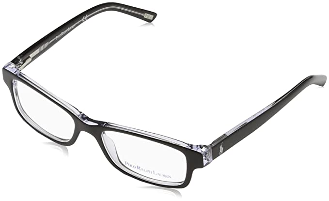 Amazon.com: Polo PP8518 PP8518 Eyeglass Frames 541-46 - Black ...
