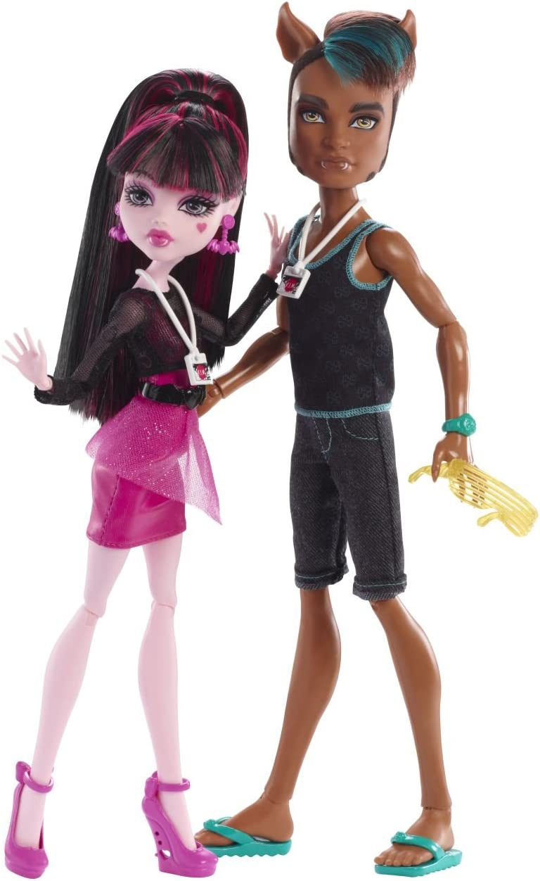 Amazon.es: Monster High - Pack 2 muñecas Music Festival (Mattel BBR83): Juguetes y juegos