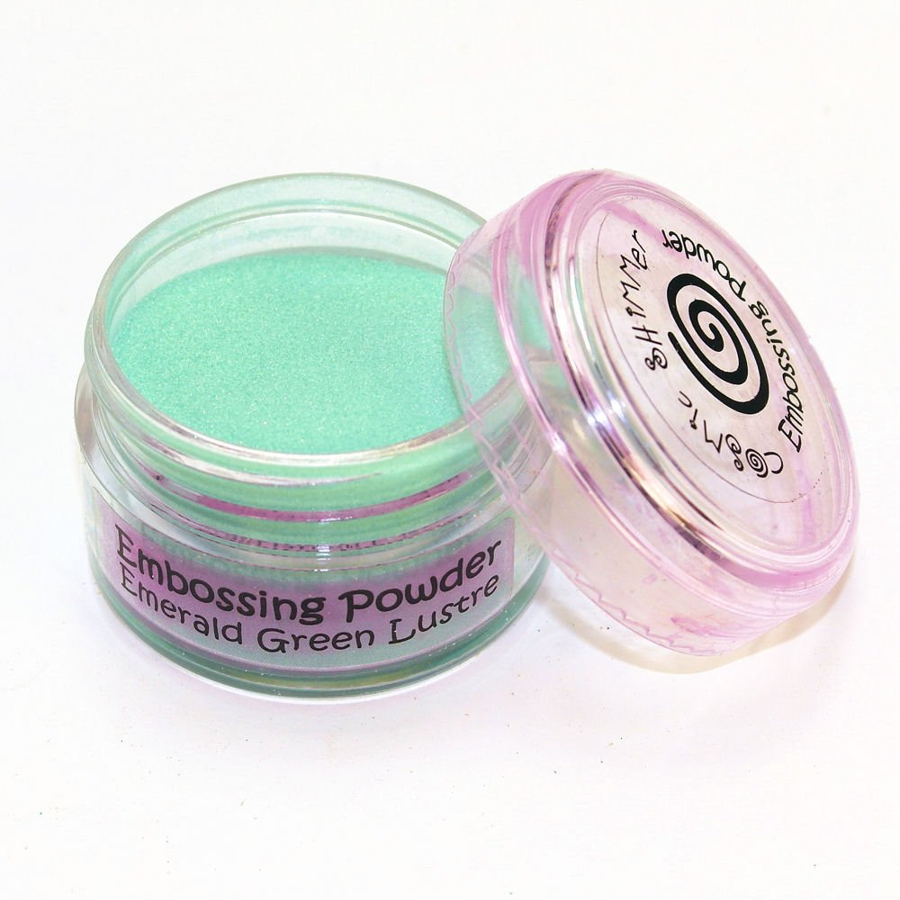 Cosmic Shimmer Lustre Embossing Powder, Emerald Green Creative Expressions CSEPEME