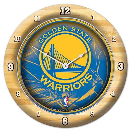 Round State Clock Wall (Golden State Warriors Round Wall Clock)