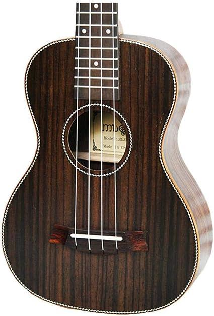 QLJ08 Ukelele acústico tenor de 26 pulgadas All Rosewood 4 cuerdas ...