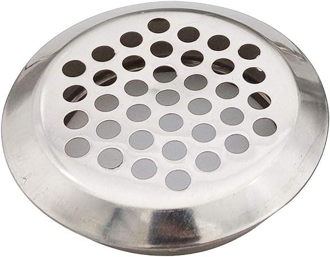 10Pcs Rejilla para Sistema de Ventilaci/ón 35mm de Di/ámetro Accesorios de Gabinete Acero Inoxidable
