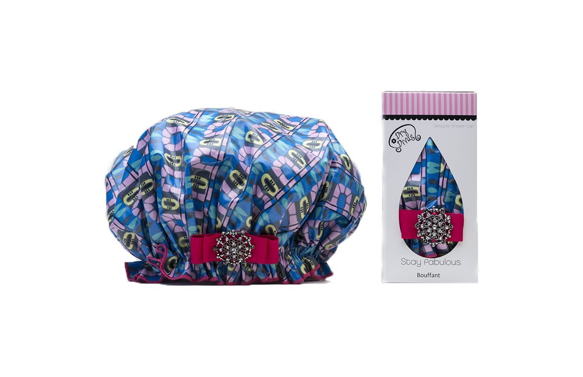 Dry Divas Washable Shower Cap (Atomic Glo) by Dry Divas