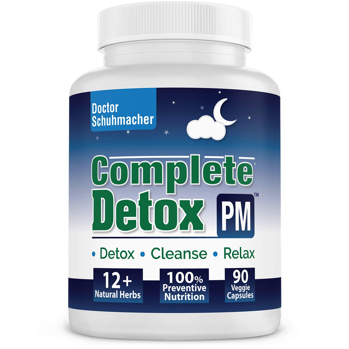 Longevity Complete Detox [PM] - Rapid Whole Body Detox with Support for Liver Detox, Colon Detox, Lymph Detox, Kidney Cleanse