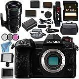 Panasonic Lumix DC- G9 DC-G9KBODY Mirrorless Micro Four Thirds Digital Camera Leica DG Vario-Elmar 100-400mm f/4-6.3 ASPH. POWER O.I.S. Lens Bundle