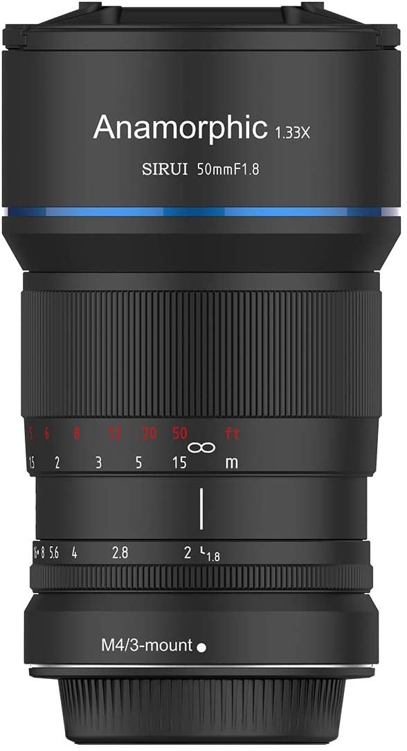 SIRUI 50mm F1.8 Anamorphic Lens for M Mount