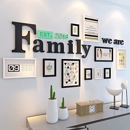 Amazon.com: WUXK The Living Room 3D Wall Decals Bedroom Wall Sticker ...