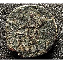 JUDAEA, Caesarea Maritima. Trajan. 98-117 CE. Æ Struck 112-117 CE. Judea Ancient coin.