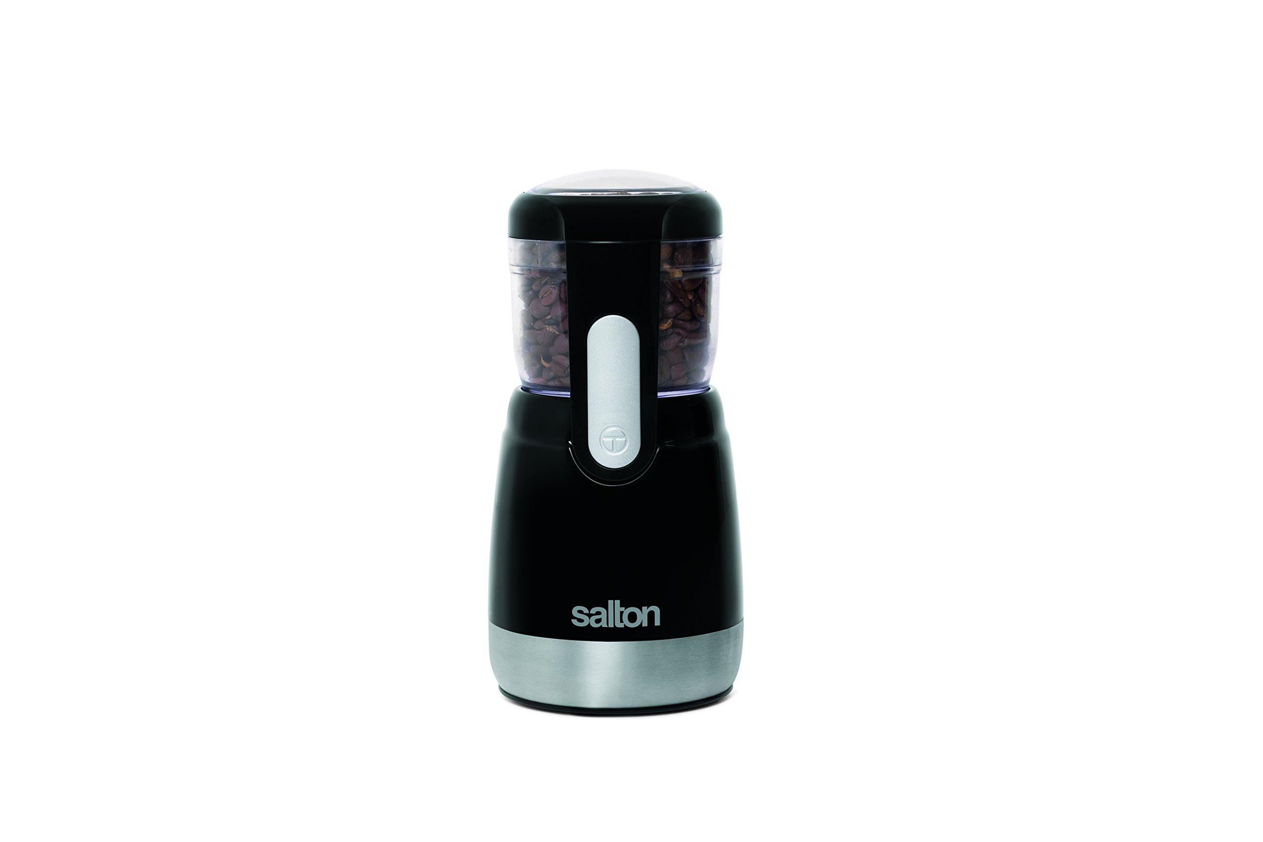 Black Salton CG7B Coffee and Spice Grinder