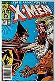 Uncanny X-Men (1981) #222 VF+ (8.5) Wolverine vs Sabretooth