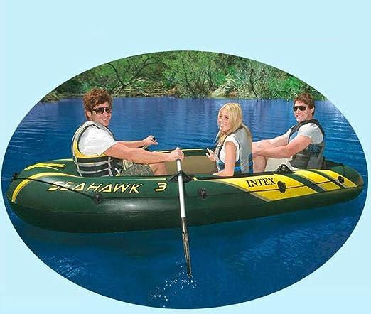 Amazon.com: LQHPP - Barco inflable para 4 personas con pala ...
