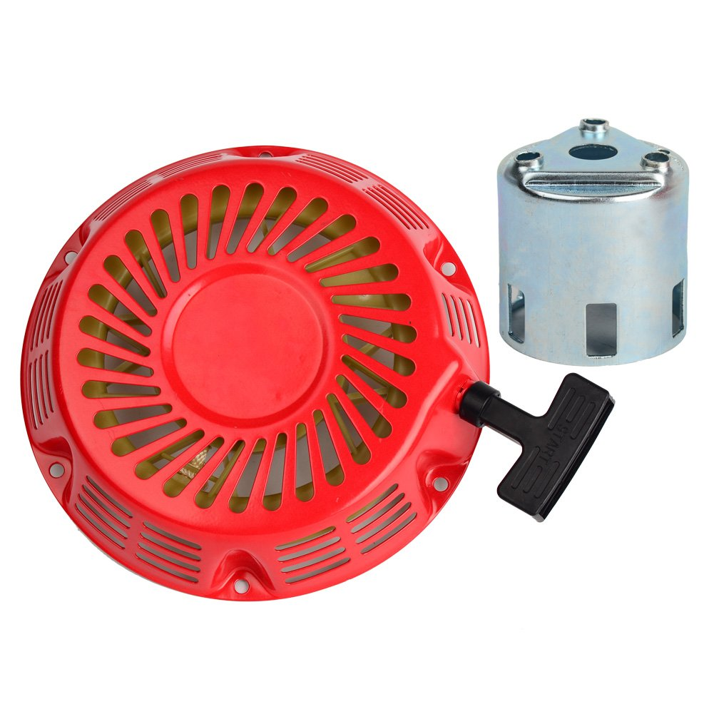 HIFROM Replace Recoil Starter with Starter Cup for Honda GX340 GX390 11HP 13HP Engine Motor Parts