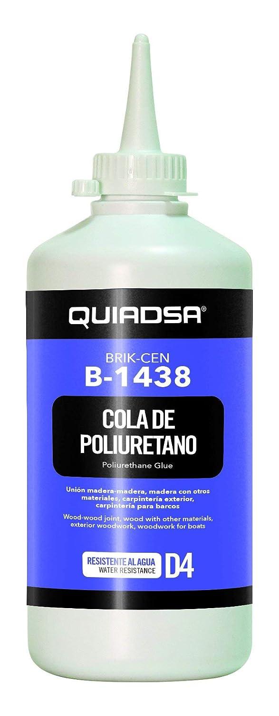 Quiadsa 52600005 B-1438 Adhesivo Pegamento de Poliuretano, 500 g: Amazon.es: Bricolaje y herramientas