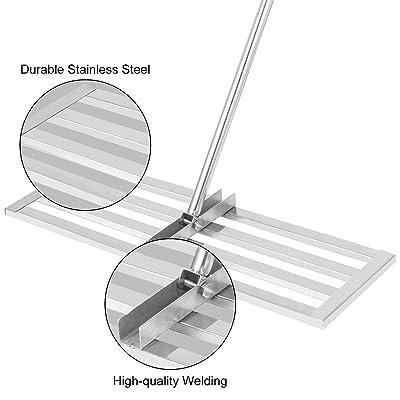 Stainless Steel Lawn Rake