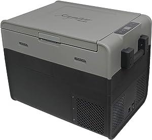 Offgrid Outdoor 12 Volt Portable Refrigerator Freezer Cooler Electric 48 Quart 45L Fridge 0 to 50F Degrees Travel, Car, Truck, SUV, RV, Camping, Driving, Fishing, Mini Fridge,12/24V DC and 110-240V AC