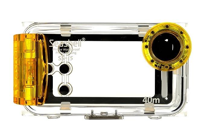 promo code 6fcf3 86850 Seashell Waterproof Photo Housing Underwater Case for iPhone 5 5s 5c -  Yellow