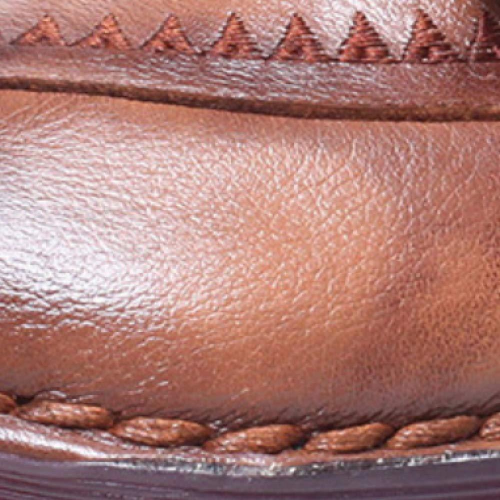 ZQZQ ZQZQ ZQZQ Stiefelies Damenschuhe Leder Vintage Mode Tragbar bc21ae