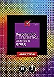 capa de Descobrindo a Estatística Usando o SPSS