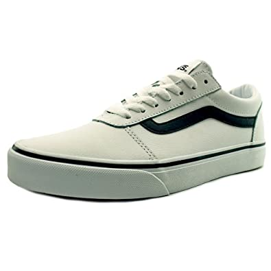 black and white low top vans