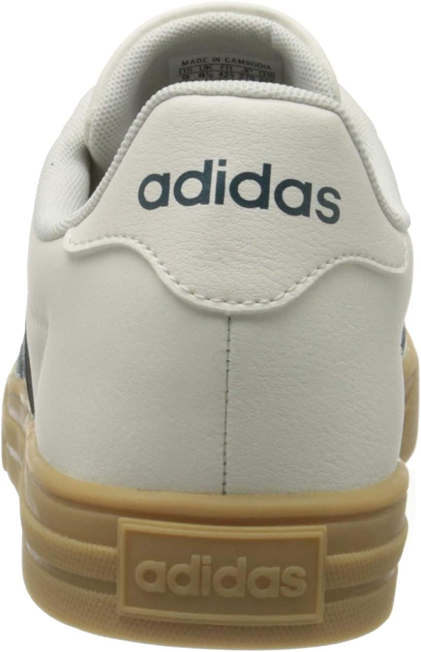 Adidas Herren Daily 2.0 Gymnastikschuh Cloud White Tech Mineral Gum 3
