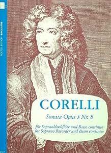Partitions classique HEINRICHSHOFEN CORELLI ARCANGELO - SONATA A-MOLL - FLUTE A BEC SOPRANO ET BC Flûte à bec