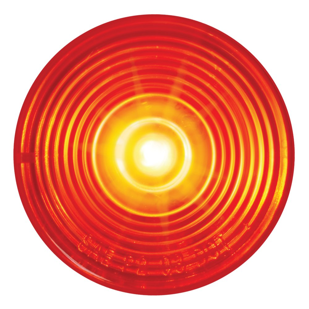 Grand General 76432 Fleet Series 2 Red LED Sealed Marker//Clearance Light