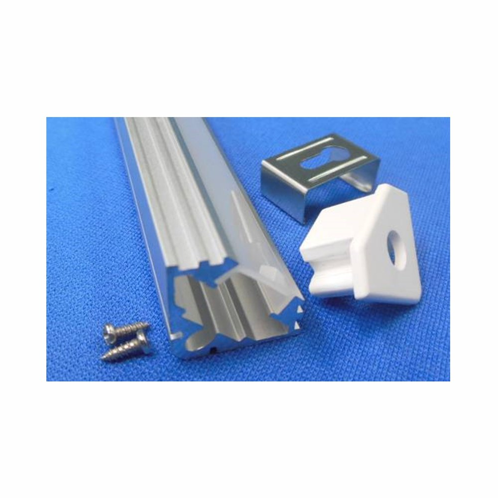 Perfil de Aluminio 45/º Transl/úcido para Tiras LED V-TAC